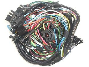 New 64 Falcon Complete Under Dash Wiring Harness w/ Fuse Box for 1 Speed  Wiper | eBayeBay