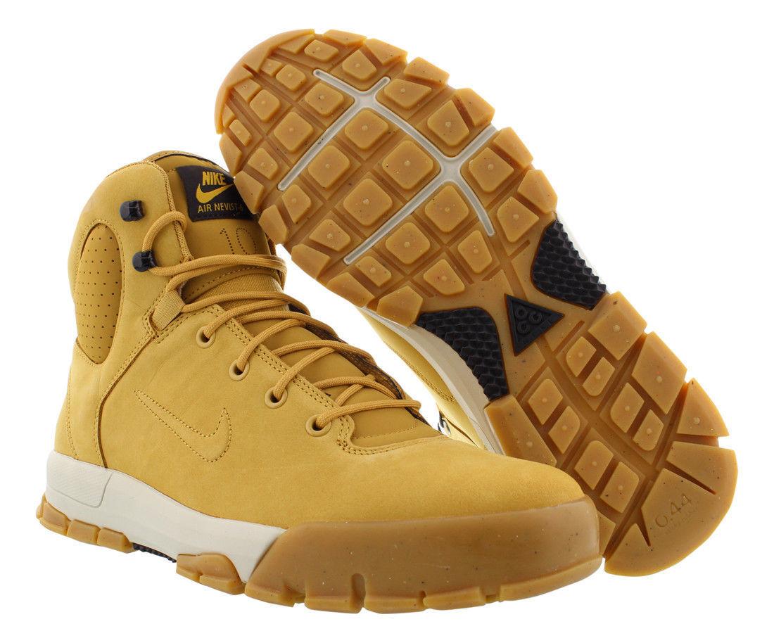 454402-772 Nike Nevist - 6 en cuir hommes bottes botte de foin Bouleau taille 8-13 nouveau IN BOX