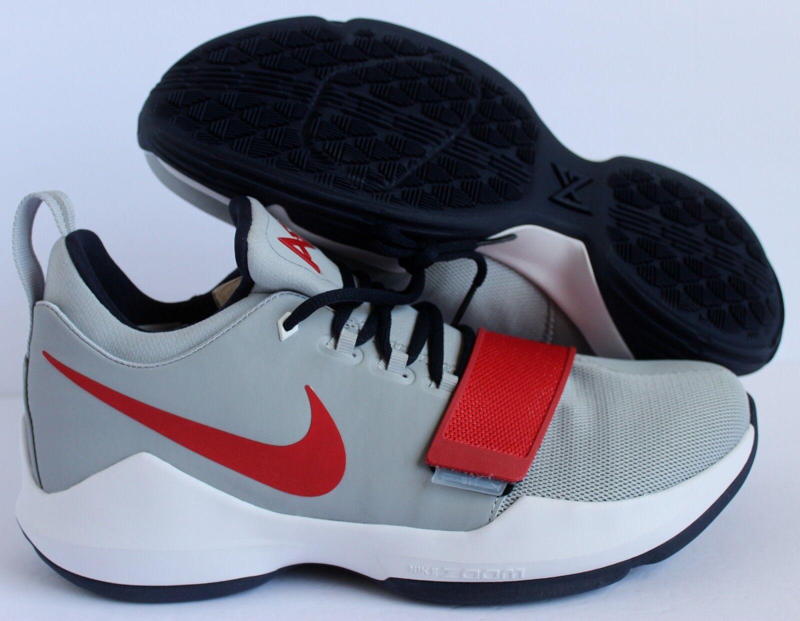 Nike PG 1 Paul George id gris blanco de rojo azul marino reducción de blanco precio 8320da