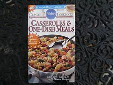 "Pillsbury Classic Cookbook ""Casseroles & One Dish Meals"" #140 ~ 1992..LN!"