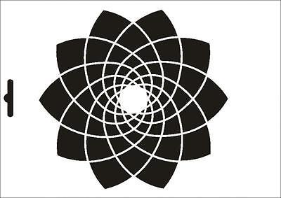 Wandschablone Maler T-shirt Schablone W-489 Blume ~ Umr Design FüR Schnellen Versand