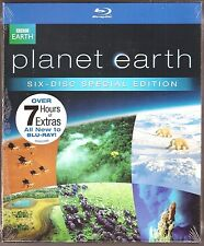 BBC Special Planet Earth Blu-ray 6-Disc Narrated By David Attenborough BRAND NEW