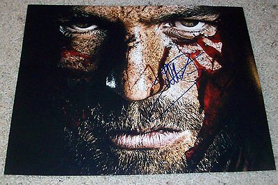 Entertainment Memorabilia Useful Liam Mcintyre Signed Autograph Spartacus 11x14 Photo G W/exact Proof Clear-Cut Texture Television