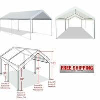 Caravan Canopy Tent Heavy Duty 10x20 Steel Carport Portable Car Shelter Garage