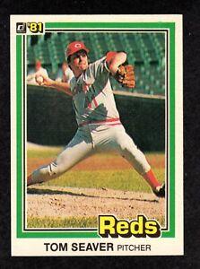 1981-Donruss-422-Tom-Seaver-Cincinnati-Reds-HOF-Baseball-Card-034-mrp-034-NM-MT