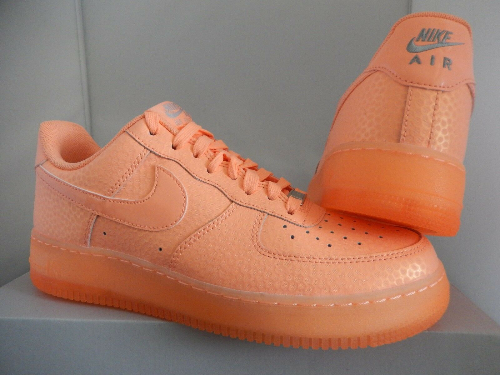 Mujeres Nike Air Force 1 1 1 07 PRM Premium Sunset Glow Talla 8.5 779dbb