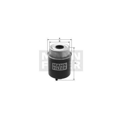 1 Kraftstofffilter MANN-FILTER WK 8137 passend für CASE IH KUBOTA