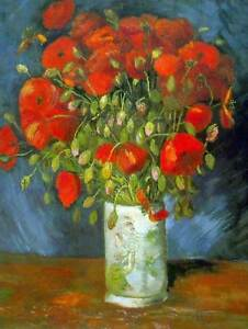 VINCENT-VAN-GOGH-RED-POPPIES-OLD-MASTER-ART-PAINTING-PRINT-POSTER-2899OMB
