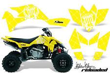 Suzuki LTR 450 AMR Racing Graphic Kit Wrap Quad Decals ATV 2006-2009 RELOADED W