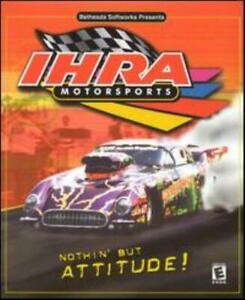 Details about IHRA Motorsports PC CD race top fuel pro mod stock funny car  drag racing game!