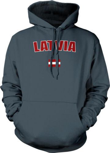 Latvia Latvian Riga European Union Flag Pride Heritage Hoodie Pullover