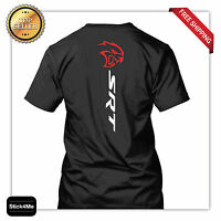 Dodge Srt Logo Cat Hq Printing Race Car Lover Sports Cars 2 Colors