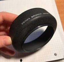 Zenza Bronica Camera 67mm Medium Format Black Metal Screw On Lens Hood #222