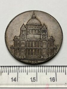 1794 Haute de Gamme Conder Token - St Paul 'S Cathedral - Rare No Die Faille 7qXk9fvN-07133941-736828928