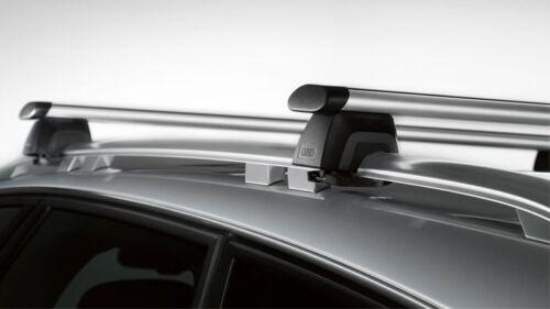 Original Audi A6 Allroad 4G Grundträger für Fahrzeuge mit Dachreling Dachträger