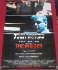 A2 A1 A3 The Insider Al Pacino Russell Crowe Vintage Movie Poster A4