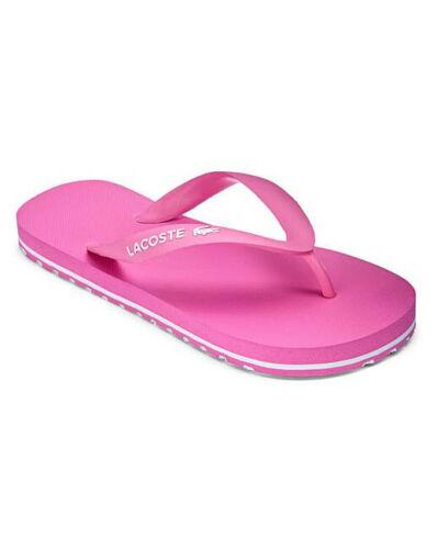 Lacoste Junior Kids Summer Flip Flops Pink 7-35caj0020f50