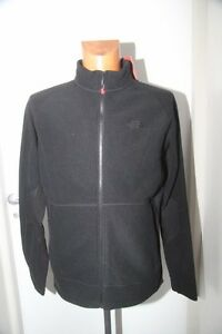 9231f649cb Original NORTH FACE veste gilet polaire ML noir T.M neuf   eBay