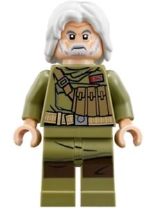 NEW LEGO ADMIRAL EMATT FROM SET 75202 STAR WARS EPISODE 8 SW0891