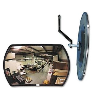 See-All Round Rectangular Glass Conves Mirror - RR1218