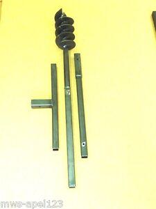 120 1 5 m tres tari re main perceuse de puits tariere auger drill foret ebay. Black Bedroom Furniture Sets. Home Design Ideas