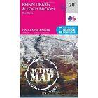 Beinn Dearg Loch Broom Ben Wyvis 2016e Ordnance Survey Sheet Map . 9780319473436