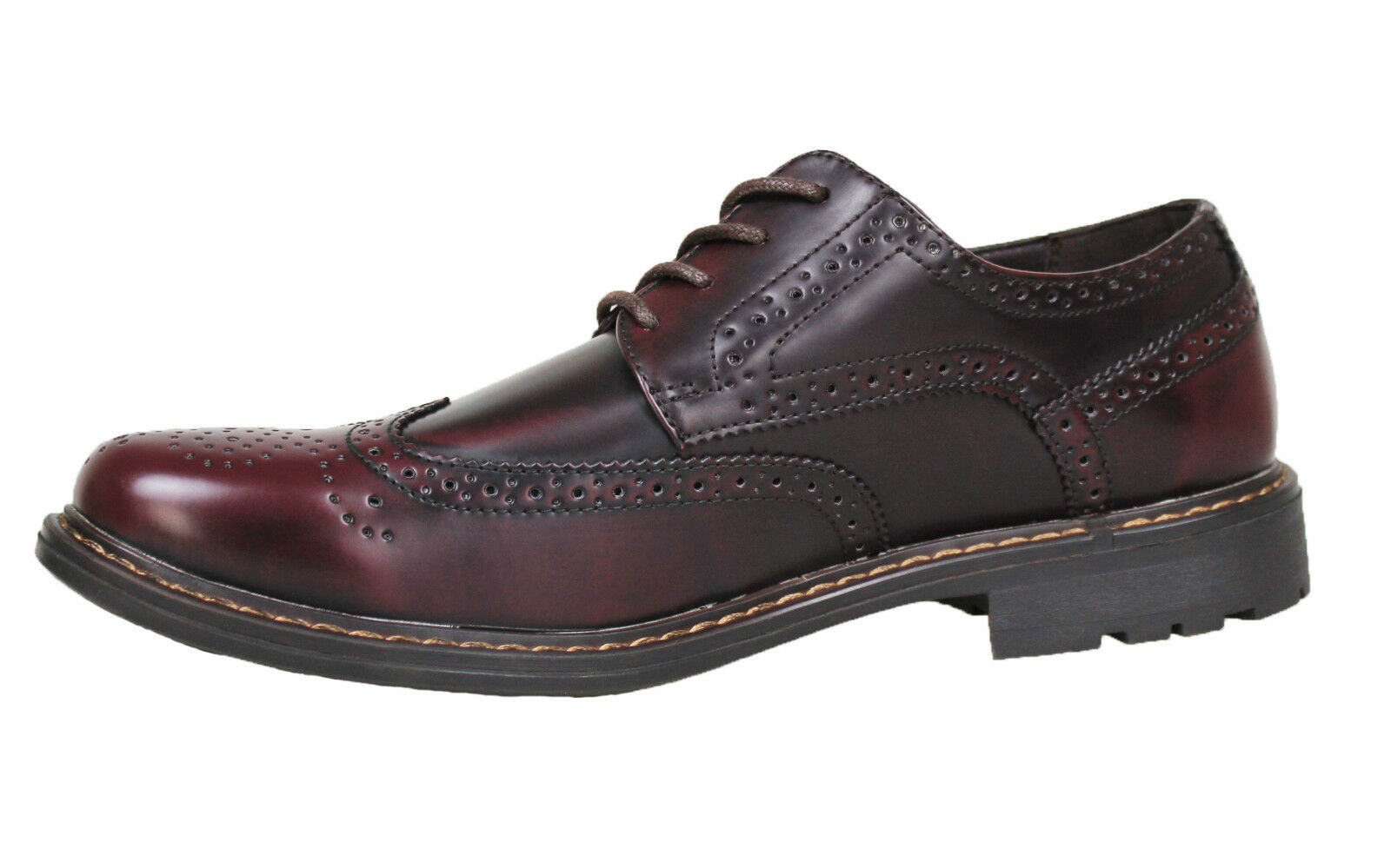 shoes FRANCESINE men CLASS BORDEAUX VERNICE EFFETTO LUCIDO CASUAL ELEGANTI