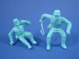 MARX-CIVIL-WAR-CAISSON-WAGON-FIGURE-SET-1-SEATED-1-MOUNTED-POSE-RECAST-FREE-SHIP