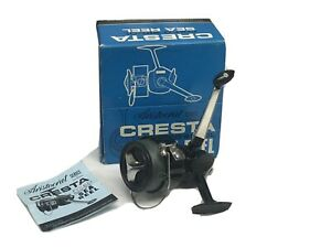 Vintage Fishing Reel Cresta Fixed Spool Sea Reel In Box
