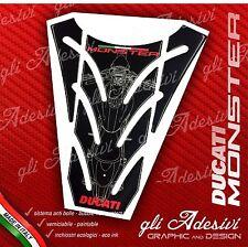 Paraserbatoio Resinato Sticker 3D DUCATI MONSTER 696 796 1100 mod. P9