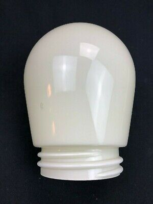 30er 40er Jahre Lampenschirm Lampenglas Schale Glaskuppel Art Deco Antik 77