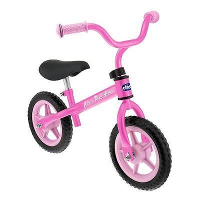 Modesto Gioco Bicicletta Pedagogica Pink Arrow Chicco Senza Pedali Balance Bike Rosa
