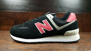 half off 9021d 86466 Image is loading New-Balance-ML574SMP-034-Classic-034-Black-Pomelo-