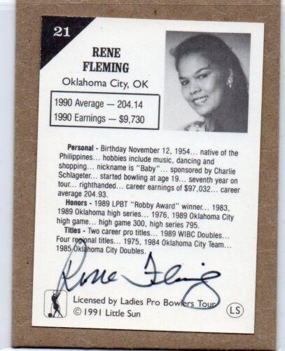 1991 Femme Pro Jeu Tour trading cards autographes 37 Différent Choisissez Un