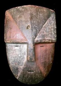 Old  Tribal Duma   Mask --- Gabon   BN 1
