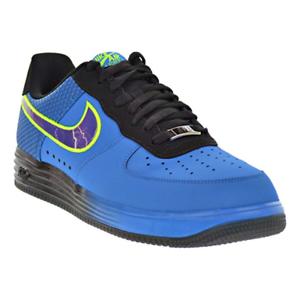 Nike Lunar Force 1 LTHR  shoes Photo bluee Court Purple Black, Size 8.5