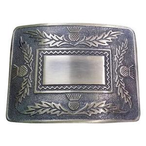 70022f4dde38 TC Homme Écossais Boucle Ceinture Finition Antique   Highland Kilt ...