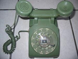 Antique-Rotary-Dial-Home-Phone-line-Model-500DM