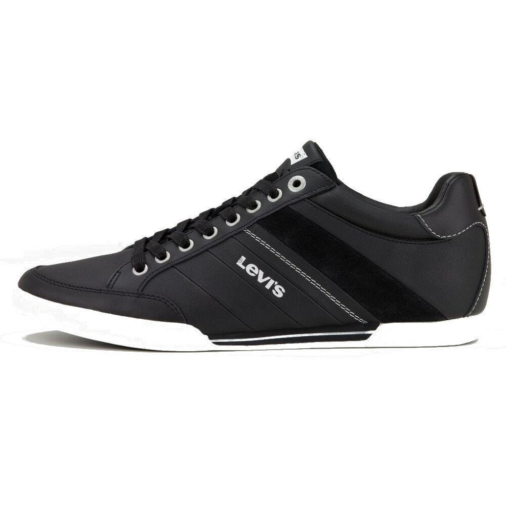 LEVI'S NEW Mens Black Shoes Turlock Shoes Black BNIB 3c1d6c