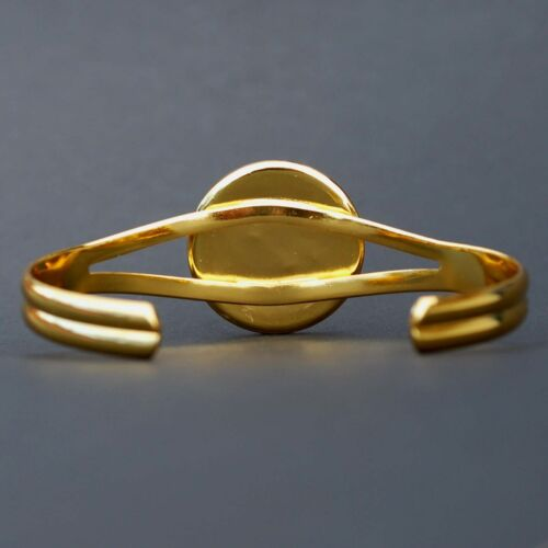 Details about  /US 2005 California State Quarter Coin Gold Plated Cuff Bracelet Beautiful