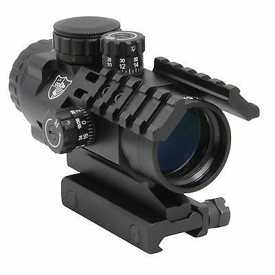 CCOP Tactical Prism Scope SCP-P2532i 2.5x 32mm Red Green Illuminated CQB Reticle