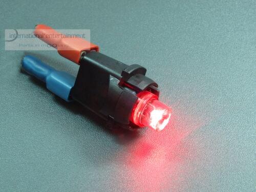 VDO TEILESATZ BELEUCHTUNG  ORIGINAL VDO LED rot 12V  mit  FASSUNG  komplett