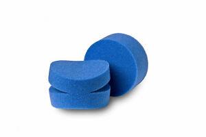 Flexipads-2x-dettaglio-SPLIT-Foam-ordine-SPUGNA-caposquadra-Puck-Puck-a-mano-100mm