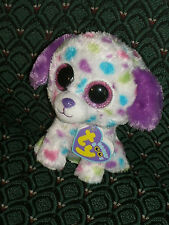 """Ty Boo DARLING ( polka dot dog) 6"""" Mint/Mint tag * RARE * JUSTICE's Exclusive"""