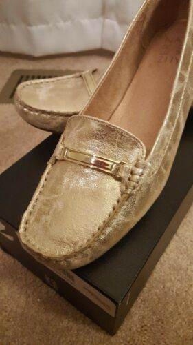 5 Women's Loafer Gold Naturalizer 8 twTHZqWS