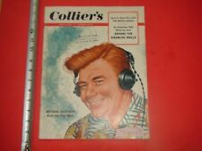 JK621 Colliers May 1953 Hess cover Arthur Godfrey radio head phones fan mail
