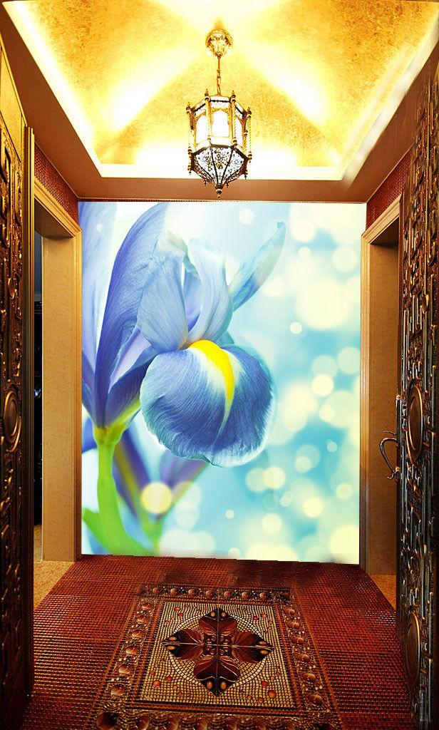 3D Schön Dunstig Blaumen 743 Tapete Tapete Tapete Wandgemälde Tapete Tapeten Bild Familie DE | Authentische Garantie  | Günstigstes  | Jeder beschriebene Artikel ist verfügbar  ccd9e9
