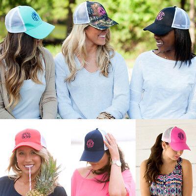 Monogrammed Womens Baseball Cap Hat ~ FREE Monogram FAST Turnaround FREE SHIP