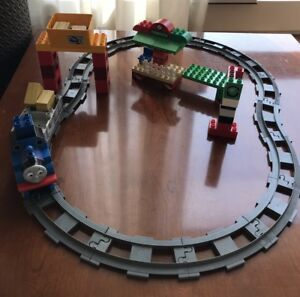 Kids Lego Doplo Thomas Friends Carry Load Train Set collectibles