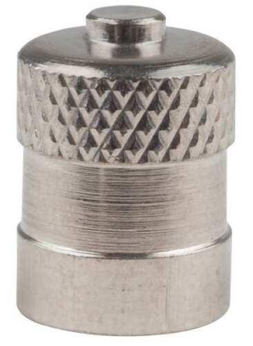 Haltec A-100-Vc-3 Metal Dome Valve Cap,Pk100